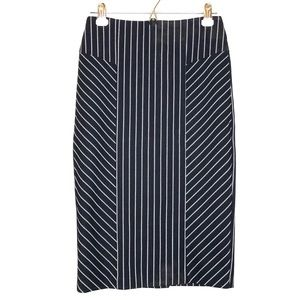 New York & company seamed pencil skirt size 2